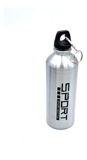 Botella Deportiva Aluminio Rosca Liviana Con Gancho 750ml