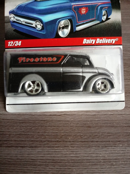 Hot Wheels Dairy Delivery Real Riders