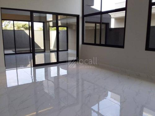 Imagem 1 de 27 de Casa Com 3 Dormitórios À Venda, 296 M² Por R$ 1.370.000 - Residencial Gaivota Ii - São José Do Rio Preto/sp - Ca2762