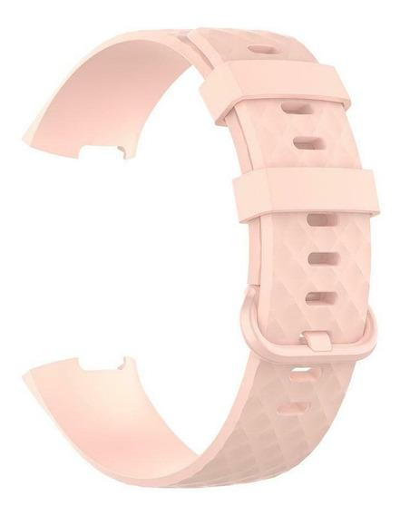 Pulseira Para Relogio Fitbit Charge 3 - Tam P - 19cm Pera