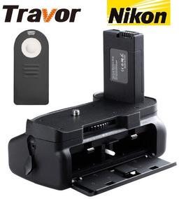 Grip Nikon D5100 D5200 D5300 En-el14 Bg-2g Com Controle
