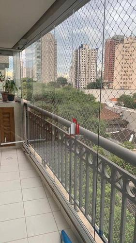 Apartamento Com 4 Dormitórios Para Alugar, 172 M² Por R$ 6.700,00/mês - Vila Romana - São Paulo/sp - Ap0437