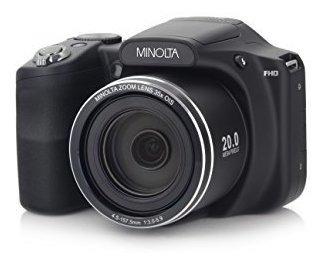 Minolta Camara Digital Wifi 20 Mp Zoom Optico 1080p Hd