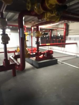 Instalação Elétrica E Hidráulica De Combate À Incêndio