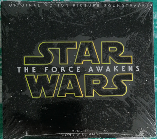 Star Wars The Force Awakens Original Soundtrack Nuevo Sellad