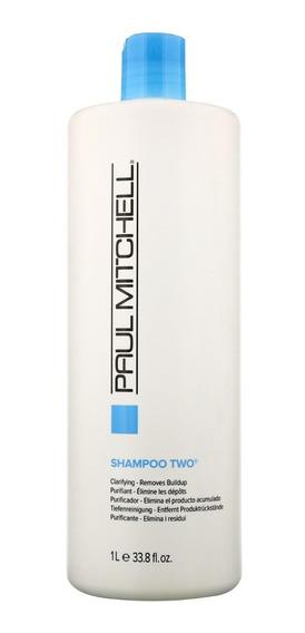 Shampoo Paul Mitchel Two 1000 Ml Clarifying Pronta Entrega