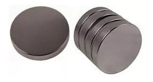 10 Imanes De Neodimio 10x2 Mm Super Potentes