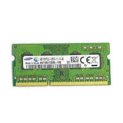 Memoria 4gb Samsung Notebook Ddr3 1600mhz Pc3l-12800s 1rx8