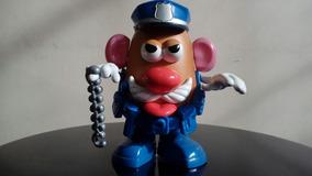 Senhor Cabeça De Batata Policial Usado Raridade!