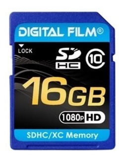 Cartao Memoria Sdhc Digital 16gb Class 10 - 90 Mb/s + Capa