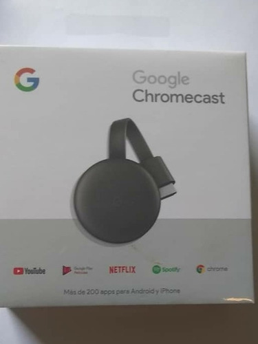 Google Chromecast Streaming 3ra Generación