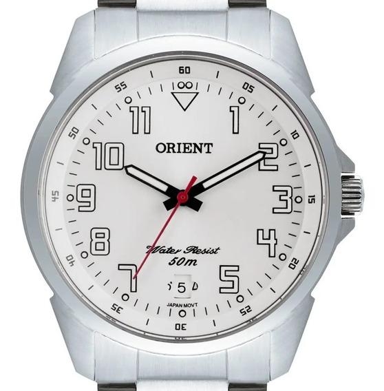 Relógio Masculino Orient Ponteiros Fosforescentes Mbss1154a