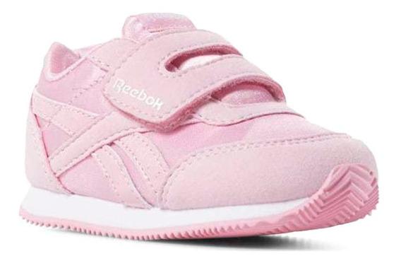 Tenis Reebok Rosados Para Bebe Con Cierre De Velcro