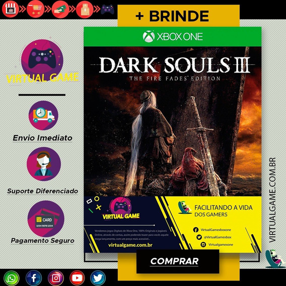 Dark Souls 3 - Xbox One - Midia Digital