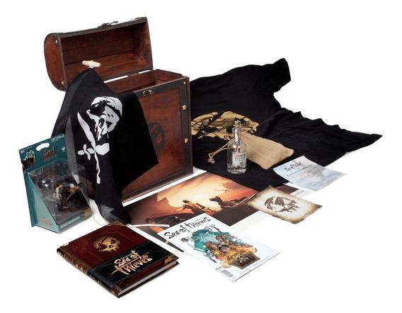 Kit Bau Game Sea Of Thieves Exclusiva Colecionador Xbox One