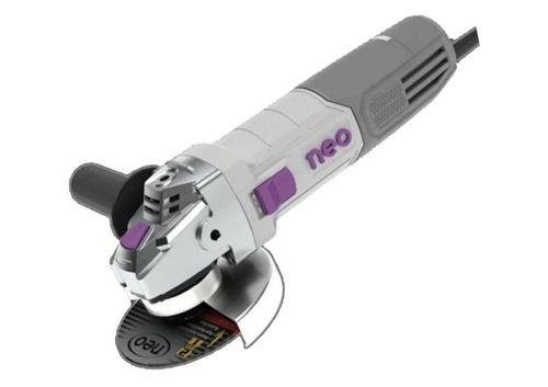 Amoladora Angular 5'' Industrial 1100w Neo Aa1025 + 2 Discos
