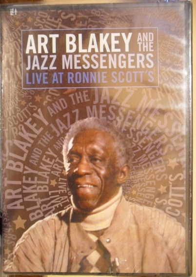 Dvd Art Blakey And The Jazz Messengers Live At Ronnie Scott