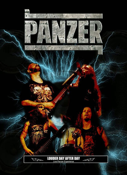 Panzer - Louder Day After Day (dvd + Cd - Paper Sleeve)