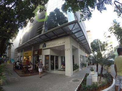 Aluguel - Sala Comercial Mobiliada No Edifício Metropolis