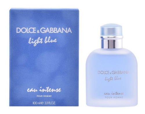 Imagen 1 de 4 de Dolce & Gabbana Light Blue Eau Intense Pour Homme Edp 100ml