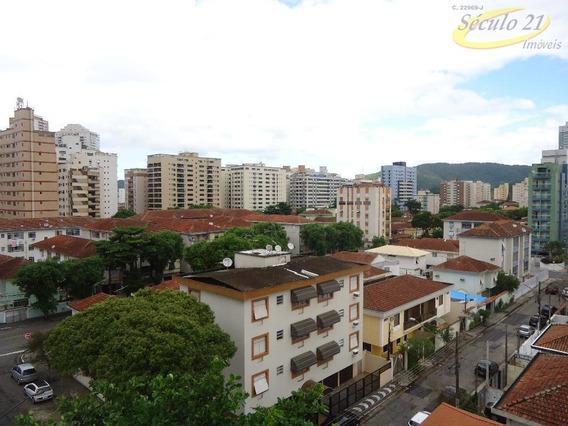 Apartamento Residencial Para Locação, Ponta Da Praia, Santos. - Ap5080