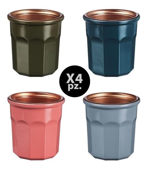 Taza Pocilo Cafe 90cc Luminarc X4 Pz Nespresso Y Dolce Gusto