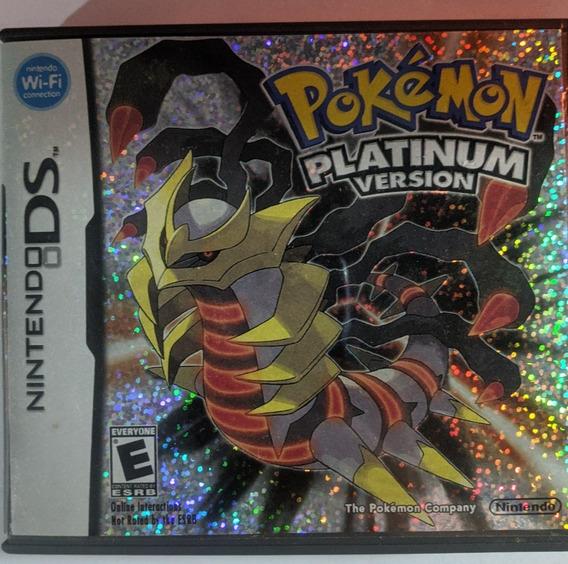 Pokémon Platinum Nintendo Ds Com Manual