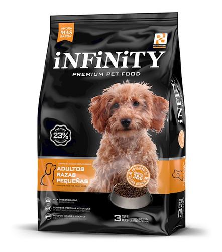 Alimento Perros Razas Pequeñas Infinity Premium 3 Kgs