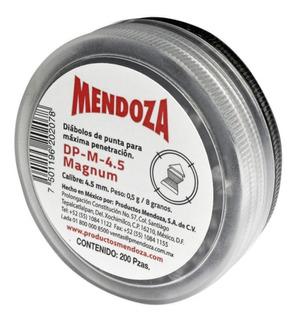 Diábolo Magnum Calibre 4.5 Estuche Con 200 Piezas Mendoza