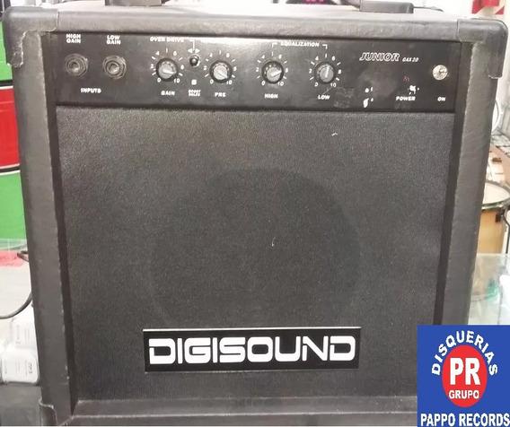 Amplificador De Guitarra Digisound 20w. Pappo Records