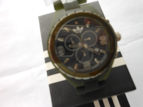 Relógio adidas Adh 2565 Masc Pulseira De Silicone Original