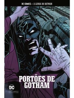 Coleção Hq Novels A Lenda Do Batman N3 Portões De Gotham