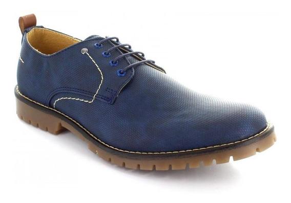 Zapato Para Hombre Brantano 1319-046117 Color Azul
