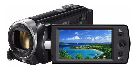 Filmadora Sony Dcr Sx22 Zoom Óptico 70x Preta Top De Linha