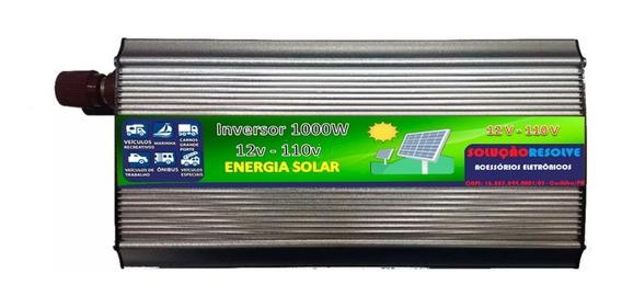 Inversor Conversor Energia Solar 12v P/110v-1000w