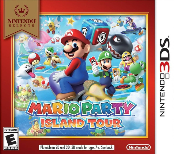 Mario Party Island Tour Nintendo 3ds Digital Eshop - Codigo
