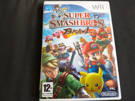 Super Smash Bros. Brawl Nintendo Wii Pal Seminovo