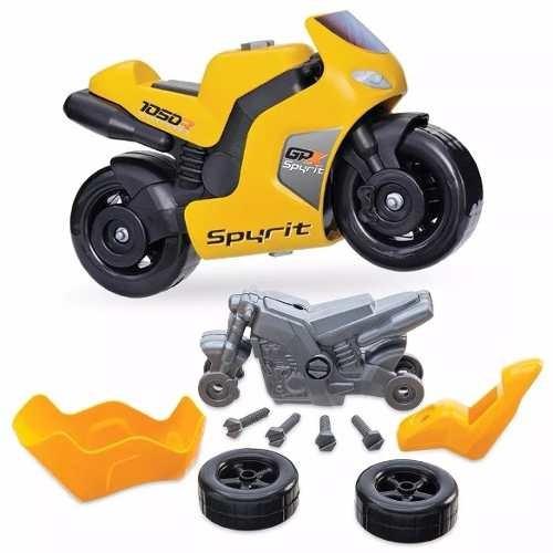 Moto Infantil Spyrit Gpx C/ferramentas Usual Brinquedos