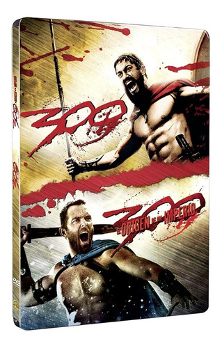 Imagen 1 de 3 de 300 + 300 El Nacimiento De Un Imperio Pack Dvd