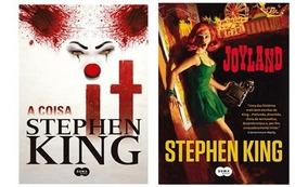 Livro - It A Coisa + Joyland Stephen King - Novo Lacrado