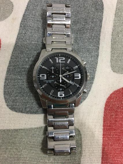Relógio Citizen Prateado Original Barato Em 12x S/juros