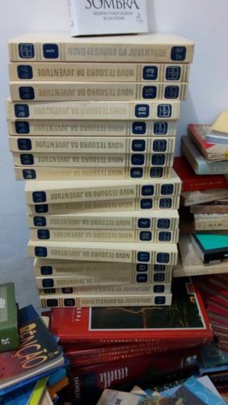 Novo Tesouro Da Juventude 18 Volumes Completos Bom Estado