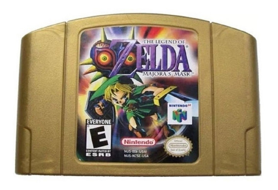 The Legend Of Zelda Majoras Mask Doura Nintendo 64 N64 Novo