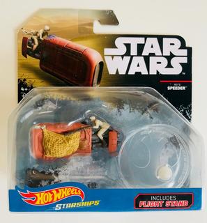 Star Wars Reys Speeder Nave Hotwheels Starships