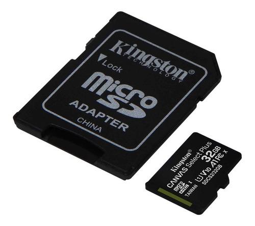 Imagen 1 de 6 de Memoria Microsd Kingston 32gb Clase 10 A1 100mb/s Micro Sd