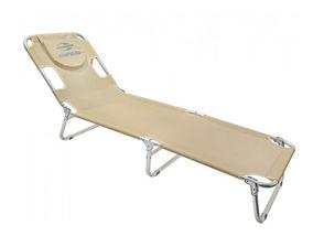 Cadeira Espreguiçadeira Em Aluminio Areia 14906 Mormaii