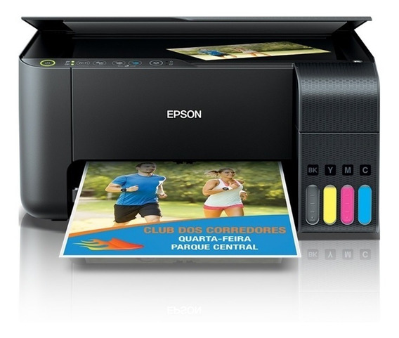 Multifunciona Wifi Tanque De Tinta Colorido Epson L-3150