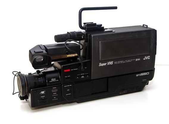 Filmadora Jvc Svhs Gf-s 550 Não Funciona, Com Carregador E
