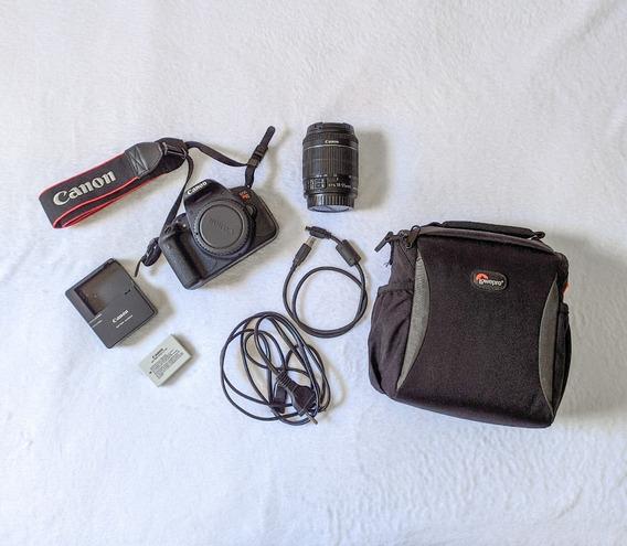 Canon T5i + Lente 18-55 + Bolsa + Cartão 32 Gb