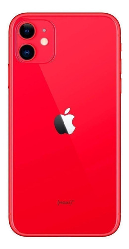 Celular Smartphone Apple iPhone 11 128gb Vermelho - 1 Chip